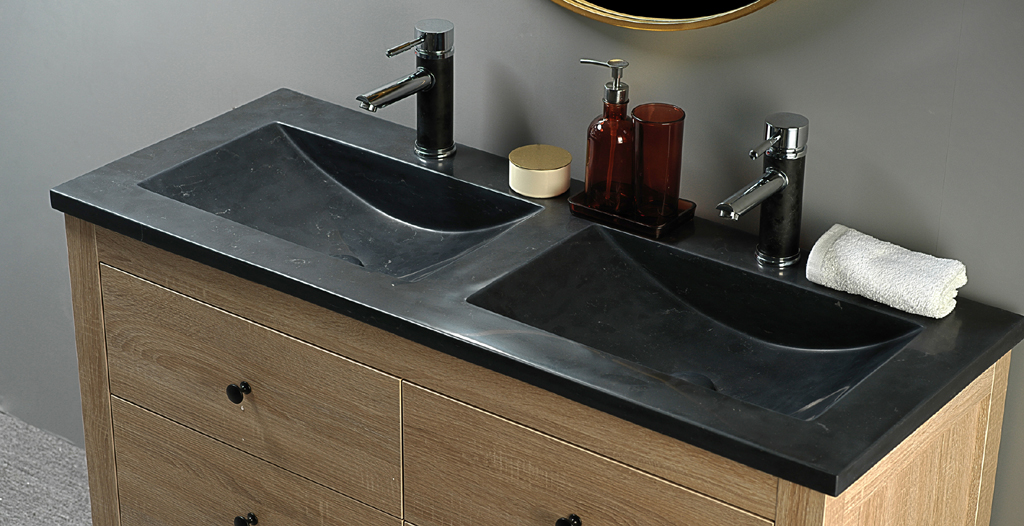 natural stone basins sinks factory stone basin RTC12046BB