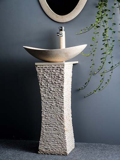 natural stone basins sinks producer  Limestone basins